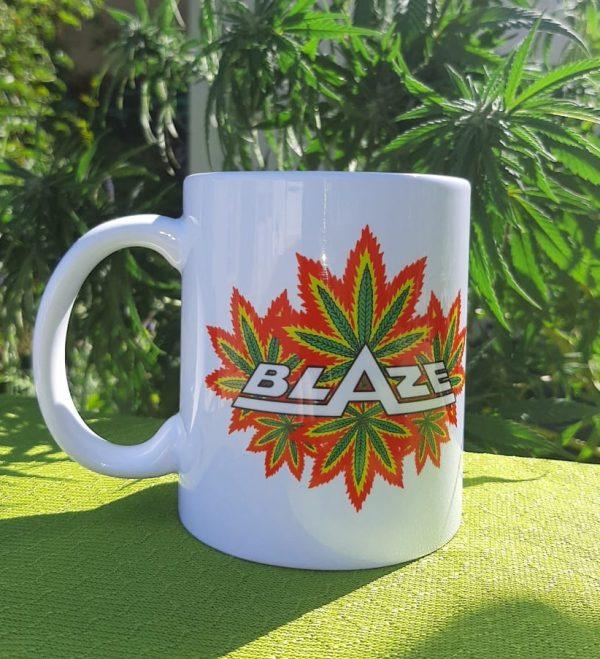 Blaze Multi Leaf Mug